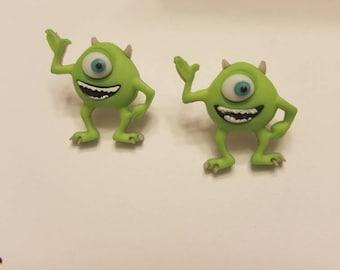 Disney Monsters, Inc. Stud Earrings