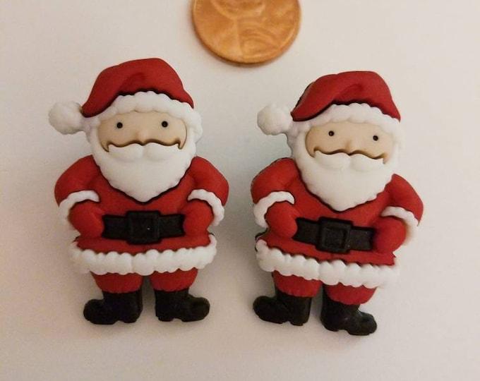 Santa & Friends Large Earrings