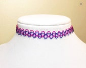 Handmade Pink and Blue Ta...