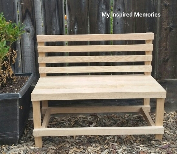Remarkable Free Paint Included Kids Wooden Bench Child Wood Bench Uwap Interior Chair Design Uwaporg