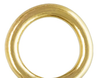 Crimp Endcap (1.4MM ID) W/RING GF, 14k Gold Filled, Made in Usa #400078