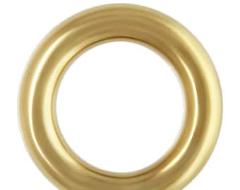 Crimp Endcap (1.0mm ID) w/Ring GP, 14k gold filled. Made in USA. #4000771
