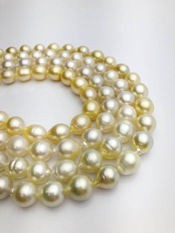 50% Off Special - Golden South Sea Pearls AA (856 No. 1-4)