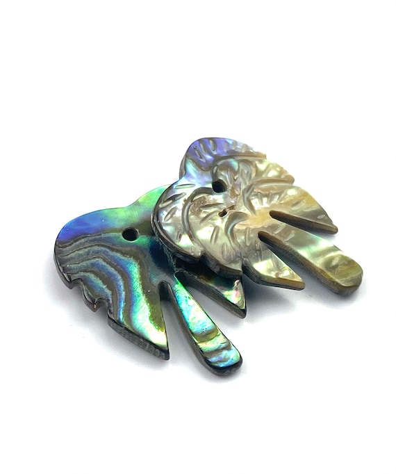 Abalone mother of pearl palm tree, SKU#110
