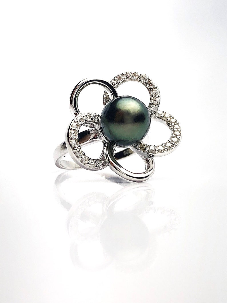 Sterling Silver Pearl Ring Setting Setting only No pearl included. SR01