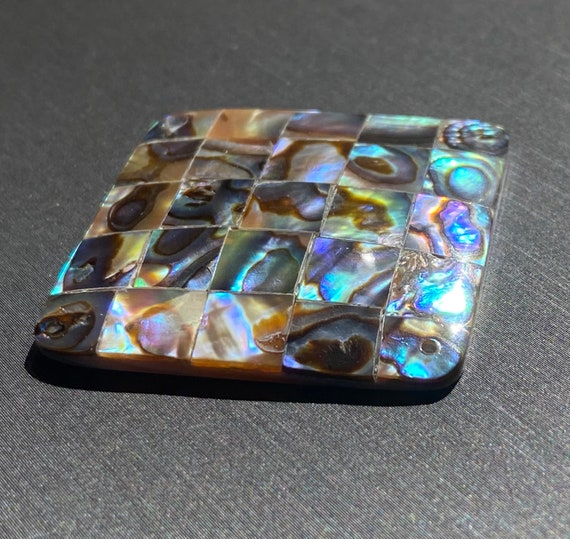 Diamond abalone mother of pearl, SKU#M787
