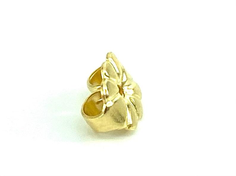 Sku#18-27-601 18K Solid Gold Ear Nut