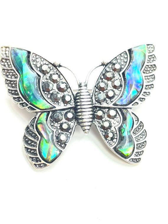 Beautiful Abalone butterflies pin