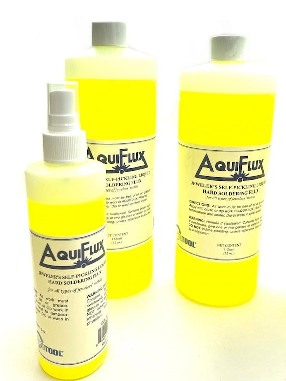 AquiFlux Jeweler's Self-Pickling Liquid Hard Soldering Flux