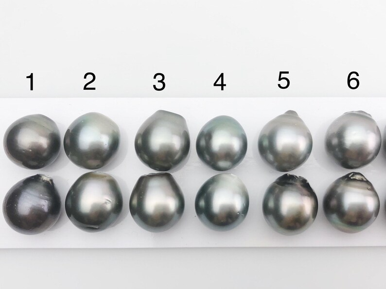 211 13mm Tahitian Loose Matched Pearls Drop