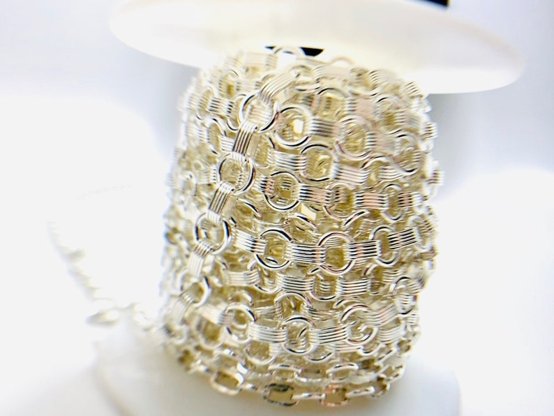 Sterling Silver 6.4mm Bracelet Chain Sku# Sm183