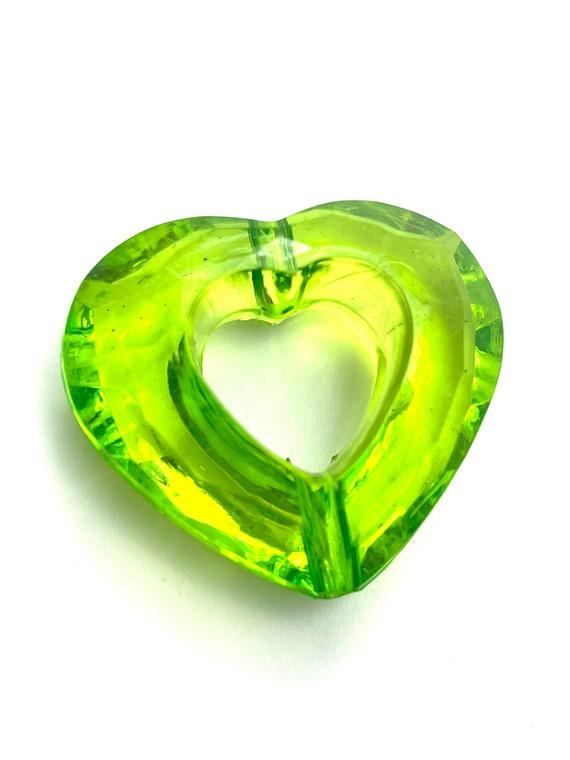 Large Hearts Acrylic