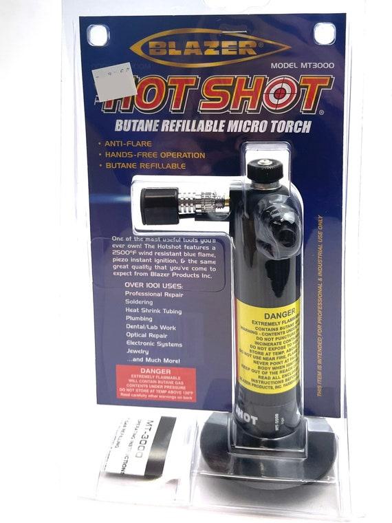 The Hot Shot, Butane Refillable Micro Torch