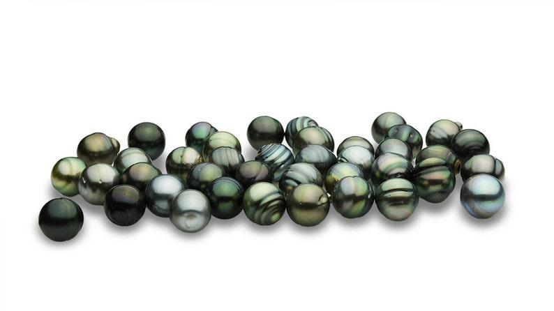 4e962b5c9703 Perlas De Tahití de 13 mm forma circular RF029