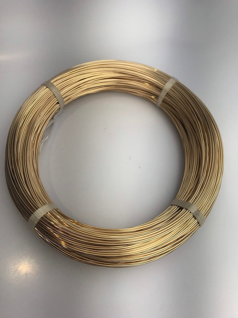 e930afa14e0a2 14k Gold Filled Wire round, 14/20 Yellow, Gold, Gold Fill