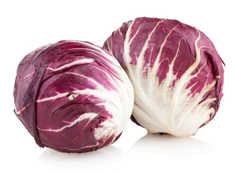 Radicchio Palla Rosa Non GMO Heirloom Garden Vegetable Seeds Sow No GMO\u00ae USA