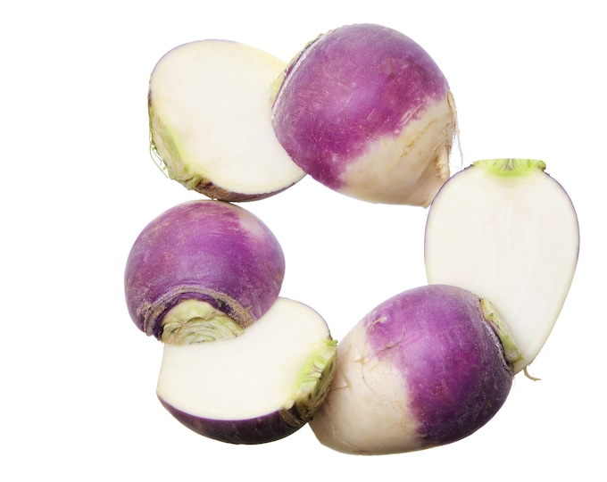 Turnip Purple Top White Globe Non GMO HeirloomVeggie Seeds Sow No GMO® USA
