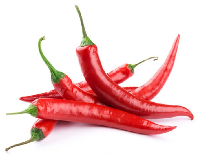 Pepper Cayenne Hot Chili Non GMO Spicy Vegetable Heirloom Seeds Sow No GMO® USA
