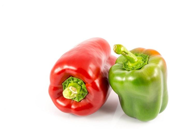 Pepper California Wonder Sweet Bell Non GMO Heirloom Seeds Sow No GMO® USA