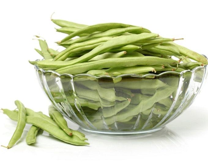 Bean Seeds, Bush Bean, Roma II, Non GMO, Heirloom Seeds, Home Gardening, Veggie Seed, Italian Bean, Wide Bean, Green Bean, Snap Bean