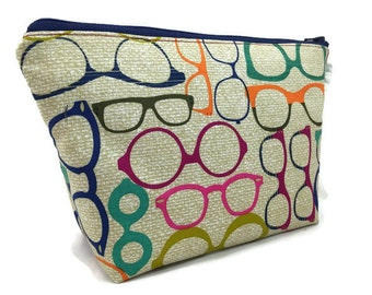 Cosmetic Bag, Makeup Bag, Accessory Bag, Make up Bag, Toiletry Bag, Gadget Bag, Jewelry Pouch in 20/20 Vision