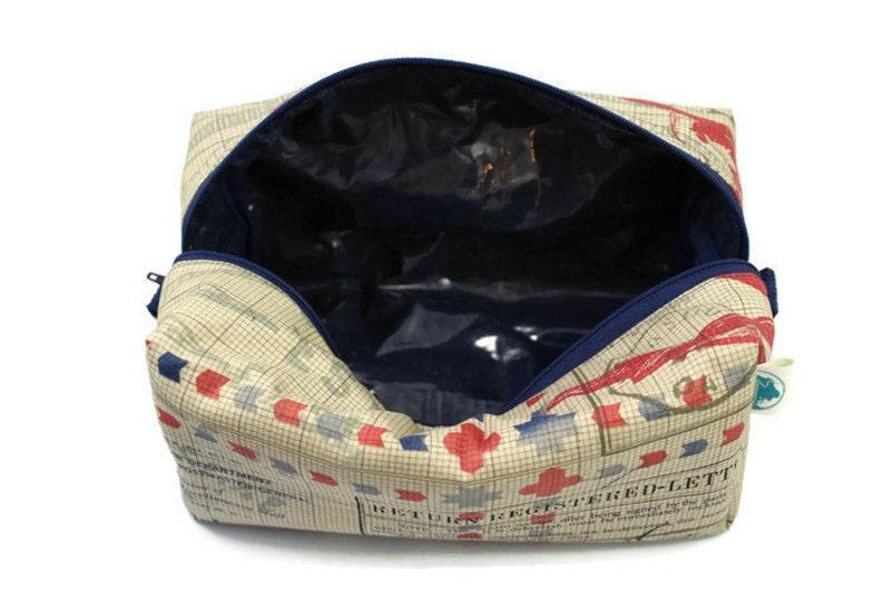 Wet Bag Dopp Kit -Travel Bag -Makeup Bag Wash Bag Boxy Bag -Toiletry Bag Eclectic Elements Accessory Bag