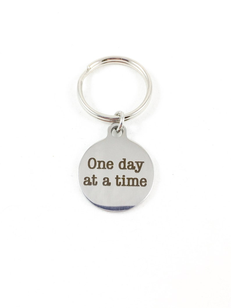 Grief Keychain Encouragement Gifts for AA Gift Grief and image 0