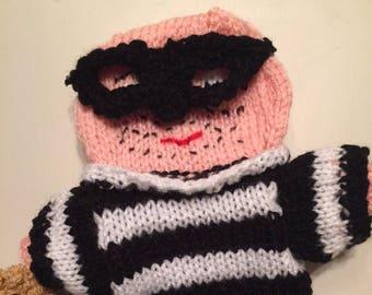 Handpuppet burglar