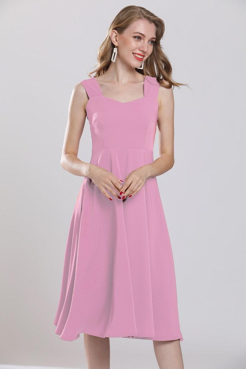 Nude pink maxi dress plus size chiffon dresses sweet tunic   Etsy