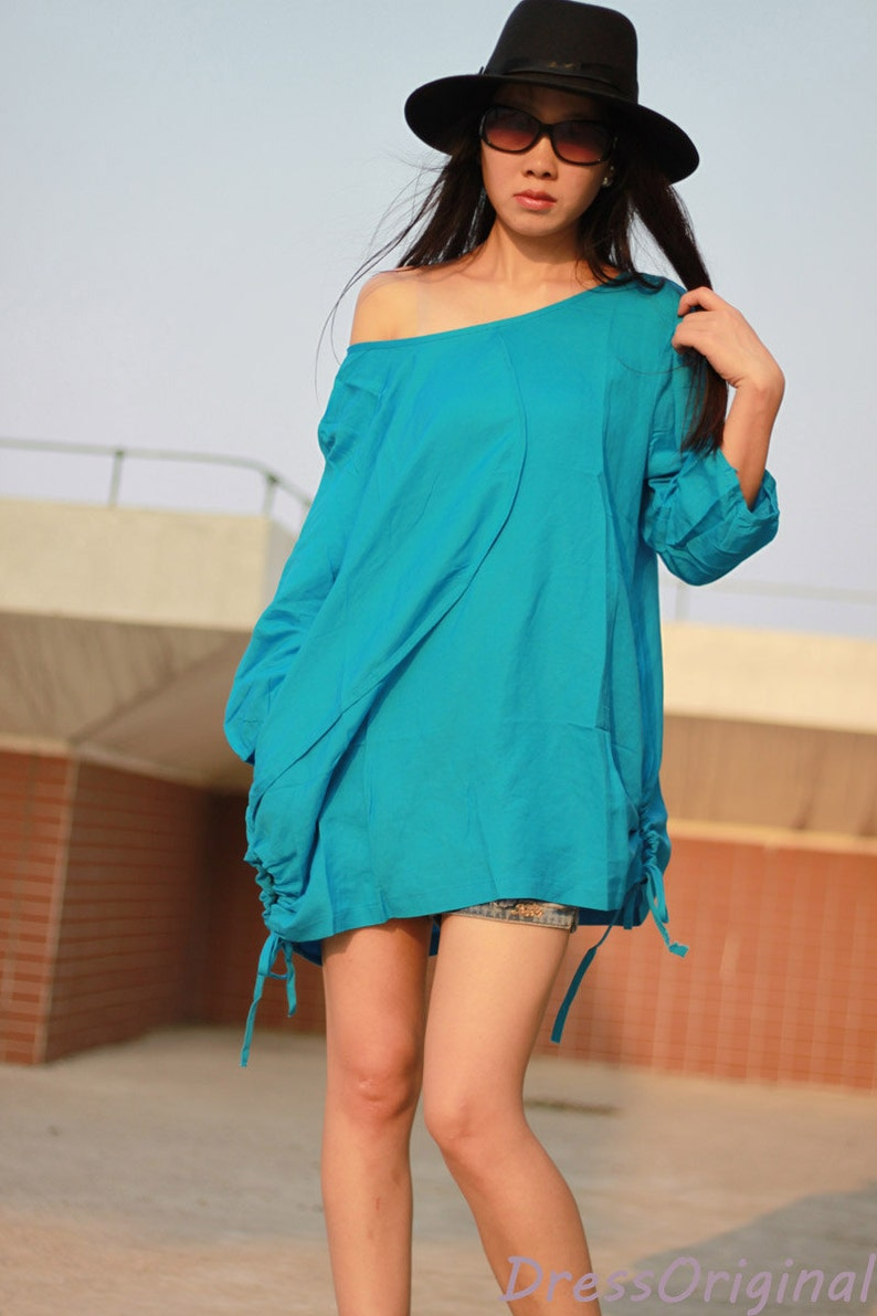 Rose oversize shirt dress Linen dresses Cotton blouse large size linen shirt flax blouse linen tops cotton shirt plus size tops OSR32