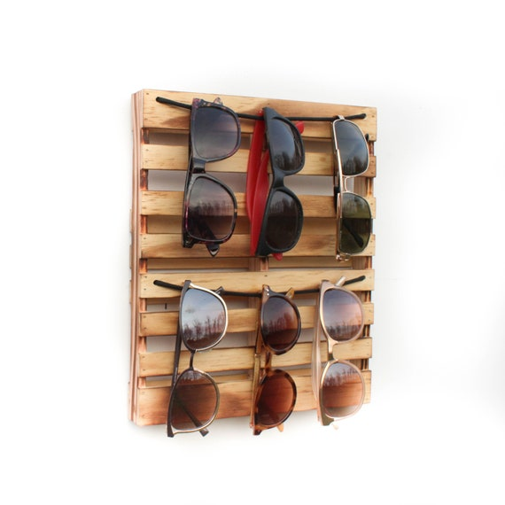 Mini Pallet Sunglasses Holder