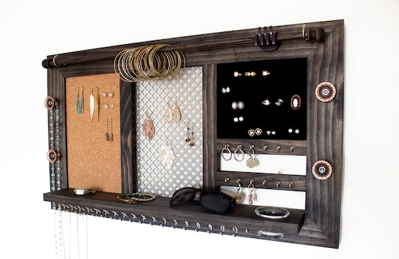 Ring, Bracelet, Necklace, Earring Organizer & Display