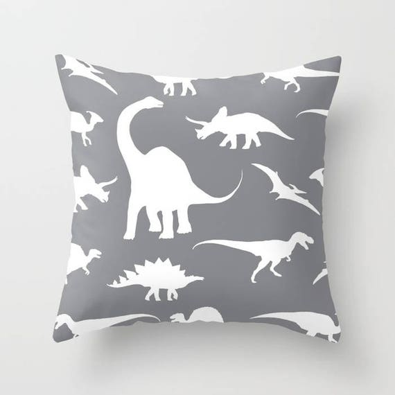 Dinosaurs Pillow Cover Dinosaurs Decor