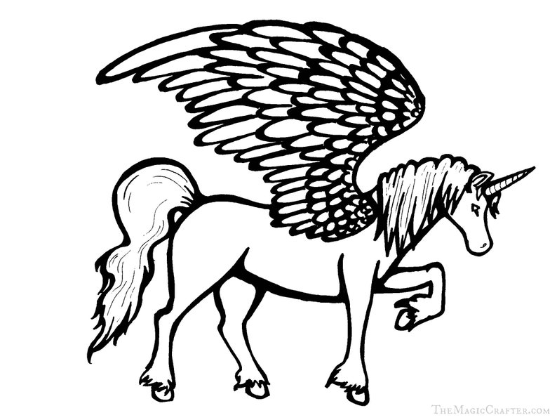 5300 Magical Animals Coloring Pages  Images
