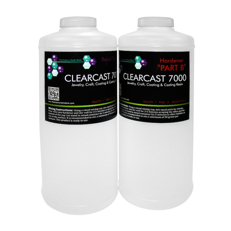 CLEARCAST 7000  clear epoxy resin cures shiny with a high image 0
