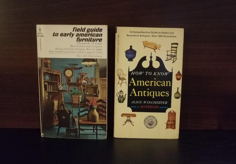 Vintage Antique Guides - Set of 2