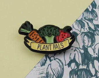 Plant Pals Enamel Pin