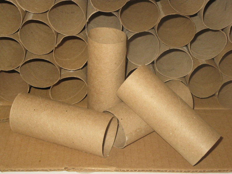 Cardboard Tubes Toilet Tissue Rolls Paper Towel Rolls Diy Etsy