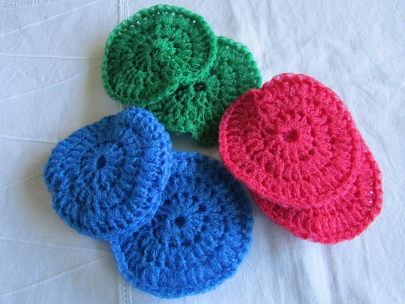 Extra Large Crocheted Nylon Netting Scrubbies Pot Scrubbers Etsy