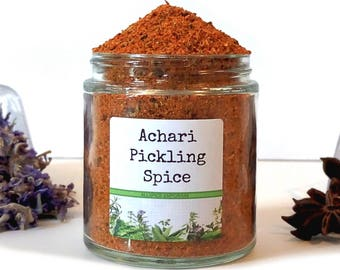 Achari Masala/Pickling Spice/Seasoning Blends/Spice Rack/Food Gift/Gifts For Foodies/Foodie Gift/Seasonings Gifts/Cooking Gift/Chef Gift