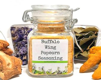 Buffalo Wing Popcorn Seasoning, Gifts for Foodies, Foodie Gift, Chef Gift, Popcorn Bar, Popcorn Gift