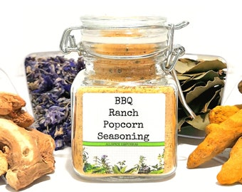 BBQ Ranch Popcorn Seasoning, Gifts for Foodies, Foodie Gift, Chef Gift, Popcorn Bar, Popcorn Gift