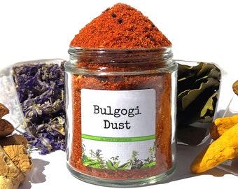 Bulgogi Dust, Korean BBQ Rub, Gourmet Spices, Seasonings Gifts, Gluten Free, No MSG