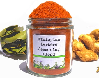 Ethiopian Berbéré Seasoning Blend, Berberay, Gourmet Spices, Seasonings Gifts, Gluten Free, No MSG