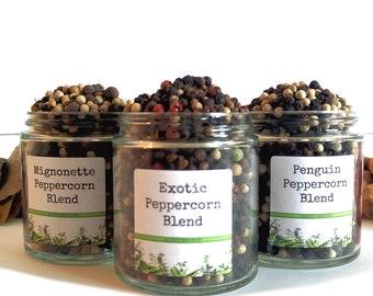 Whole Peppercorns/Seasoning Blends/Food Gift/Spice Rack/Steak Rub/BBQ Rub/Gifts For Foodies/Foodie Gift/Seasonings Gifts/Kitchen Pantry