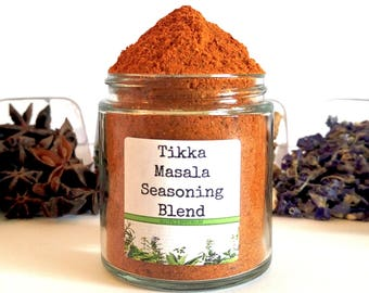 Tikka Masala/Punjabi Spice/Seasoning Blends/Spice Rack/Food Gift/Gifts For Foodies/Foodie Gift/Seasonings Gifts/Cooking Gift/Chef Gift