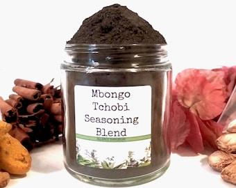 Mbongo Tchobi/Black Stew/Seasoning Blends/Food Gift/Spice Rack/Gifts For Foodies/Foodie Gift/Seasonings Gifts/Chef Gift/African/SALT FREE
