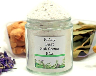 Fairy Dust Hot Cocoa Mix, Drinking Chocolate, Hot Chocolate Gift, Hot Cocoa Bar, Cocoa Lover's Gift