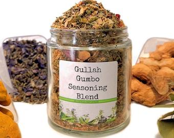 Gullah Gumbo Seasoning Blend, Gourmet Spices, Seasonings Gifts, Gluten Free, No MSG