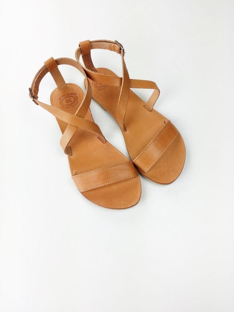 0b5ef2be9 Open Toe Greek Leather Sandals Women Handmade Greek Sandals